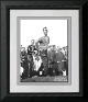 Arnold Palmer unsigned 8x10 Photo Custom Framed 1961 British Open Championship