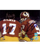 Billy Kilmer signed Washington Redskins 16X20 Photo- 2 Sig