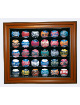 Baseball 30 Ball Deluxe Display Case