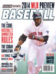2014 Athlon Sports MLB Baseball Preview Magazine- Boston Red Sox Cover