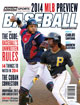 2014 Athlon Sports MLB Baseball Preview Magazine- Cleveland Indians/Pittsburgh Pirates Cover