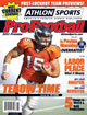 2011 Athlon Sports NFL Pro Football Magazine Preview- Denver Broncos Cover