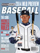 2014 Athlon Sports MLB Baseball Preview Magazine- Detroit Tigers Cover