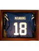 Football Jersey Deluxe Half Display Case Wood
