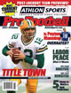 2011 Athlon Sports NFL Pro Football Magazine Preview- Green Bay Packers Cover