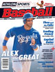 2012 Athlon Sports MLB Baseball Preview Magazine- Kansas City Royals Cover