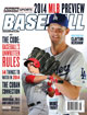 2014 Athlon Sports MLB Baseball Preview Magazine- Los Angeles Dodgers/Anaheim Angels Cover