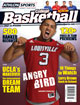 2012-13 Athlon Sports College Basketball Magazine Preview- Louisville Cardinals Cover- cover damage