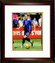 Abby Wambach signed 8X10 Photo Custom Framed (Dribbling Ball-Women's Soccer Team USA Olympics)