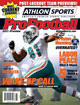 2011 Athlon Sports NFL Pro Football Magazine Preview- Miami Dolphins Cover