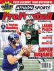 2011 Athlon Sports NFL Pro Football Magazine Preview- New York Giants/New York Jets Cover