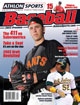 2013 Athlon Sports MLB Baseball Preview Magazine- San Francisco Giants/Oakland A's Cover
