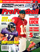 2012 Athlon Sports NFL Pro Football Magazine Preview- Baltimore Ravens/Washington Redskins Cover