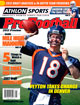 2012 Athlon Sports NFL Pro Football Magazine Preview- Denver Broncos Cover