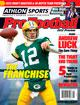 Aaron Rodgers unsigned Green Bay Packers 2012 Athlon Sports NFL Pro Football Magazine Preview