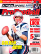 2012 Athlon Sports NFL Pro Football Magazine Preview- New England Patriots Cover