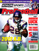 2012 Athlon Sports NFL Pro Football Magazine Preview- Minnesota Vikings Cover