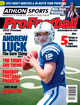 2012 Athlon Sports NFL Pro Football Magazine Preview- Indianapolis Colts Cover