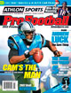 2012 Athlon Sports NFL Pro Football Magazine Preview- Carolina Panthers Cover