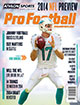 2014 Athlon Sports NFL Pro Football Magazine Preview- Miami Dolphins Cover