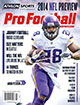 2014 Athlon Sports NFL Pro Football Magazine Preview- Minnesota Vikings Cover