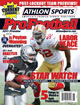 2011 Athlon Sports NFL Pro Football Magazine Preview-San Francisco 49ers/Oakland Raiders Cover