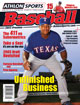 2013 Athlon Sports MLB Baseball Preview Magazine- Texas Rangers Cover