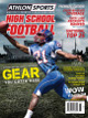 Athlon Sports 2013 High School Football Preview Magazine- West Cover