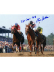 Affirmed signed Kentucky Derby Horse Racing 8x10 Photo Triple Crown 1978- Mounted Hologram
