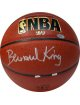 Bernard King signed Indoor/Outdoor Basketball (NY Knicks- HOF 2013)- Steiner Hologram