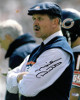 Mike Ditka signed Chicago Bears Coaching 8x10 Photo minor spot (navy hat)- Schwartz Holo