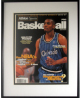 Anfernee Hardaway signed Orlando Magic 1996-97 Athlon Cover Framed LTD- Upper Deck Hologram