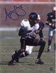 Ashley Lelie signed Hawaii Rainbow Warriors 8x10 Photo