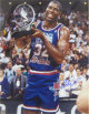 Magic Johnson signed 1992 All Star 16x20 Photo with 92 MVP inscription