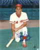 Tony Perez signed Cincinnati Reds 8x10 Photo HOF 2000