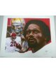 Billy Sims signed Oklahoma Sooners 20x24 Lithograph