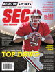 Athlon Sports 2013 College Football Southeastern (SEC) Preview Magazine- Georgia Bulldogs Cover