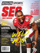 Athlon Sports 2013 College Football Southeastern (SEC) Preview Magazine- Arkansas Razorbacks Cover