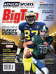 Athlon Sports 2014 College Football Big Ten Preview Magazine- Michigan Wolverines/Michigan State Spartans Cover