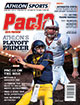 Athlon Sports 2014 College Football Pac-12 Preview Magazine- California Bears/Stanford Cardinal Cover