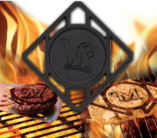 Milwaukee Brewers Pangea BBQ Meat Brander – MLB Team Logo