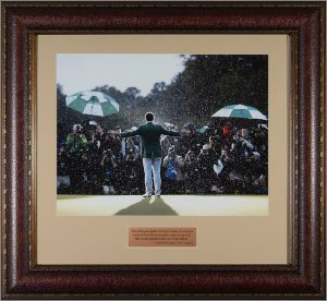 Adam Scott 2013 Masters Champion 11x14 Photo Premium Leather Framing