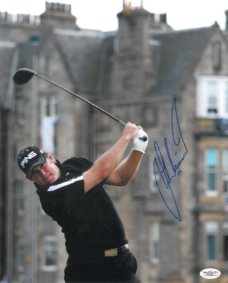 Lee Westwood signed 11X14 Photo Old Course at St. Andrews British Open- JSA Hologram