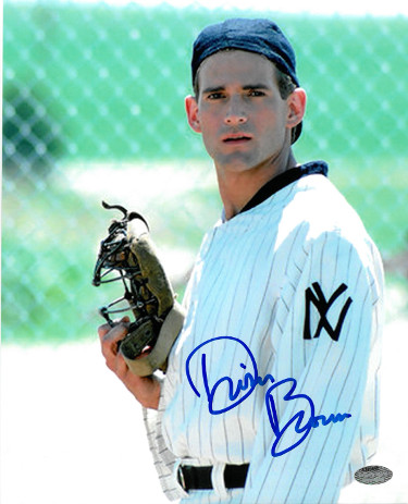 Dwier Brown signed Field of Dreams 8x10 Photo (close up in uniform/John Kinsella)