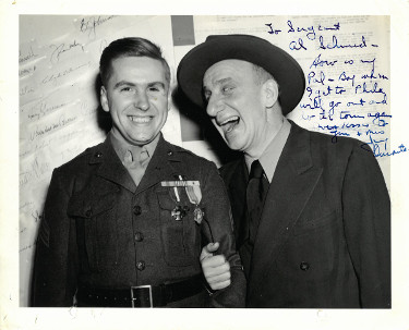 "Jimmy Durante Signed 8x10 Vintage B&W Photo – ""To Al"" - Beckett Authenticated #C25119 (music/entertainment)"