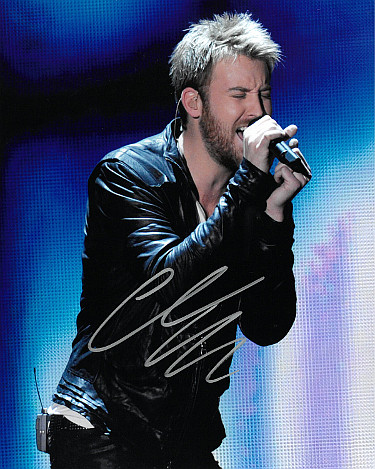 Charles Kelley signed Lady Antebellum 8x10 Photo (silver sig)- PSA/JSA/BAS Guaranteed To Pass