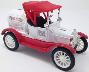 Indiana Hoosiers 1997-98 Basketball ERTL 1918 Ford Runabout Diecast Bank 1:25 LTD 1250