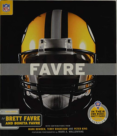 Favre: For the Record by Brett Favre and Bonita Favre Hardcover Book and DVD (Green Bay Packers)