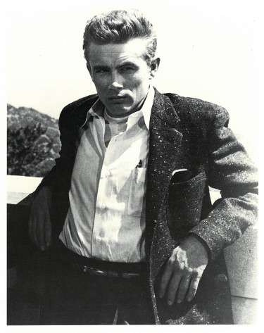 James Dean unsigned Vintage B&W 8x10 Poster Card/Photo (close up)