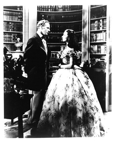 Clark Gable & Vivien Leigh unsigned Gone With the Wind Vintage B&W 8x10 Photo minor dings (Rhett Butler/Scarlett O'Hara)